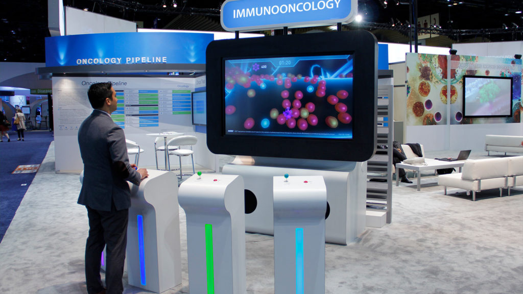 axs-studio-medical-game-congress-booth-oncology-exhibit-asco-2016