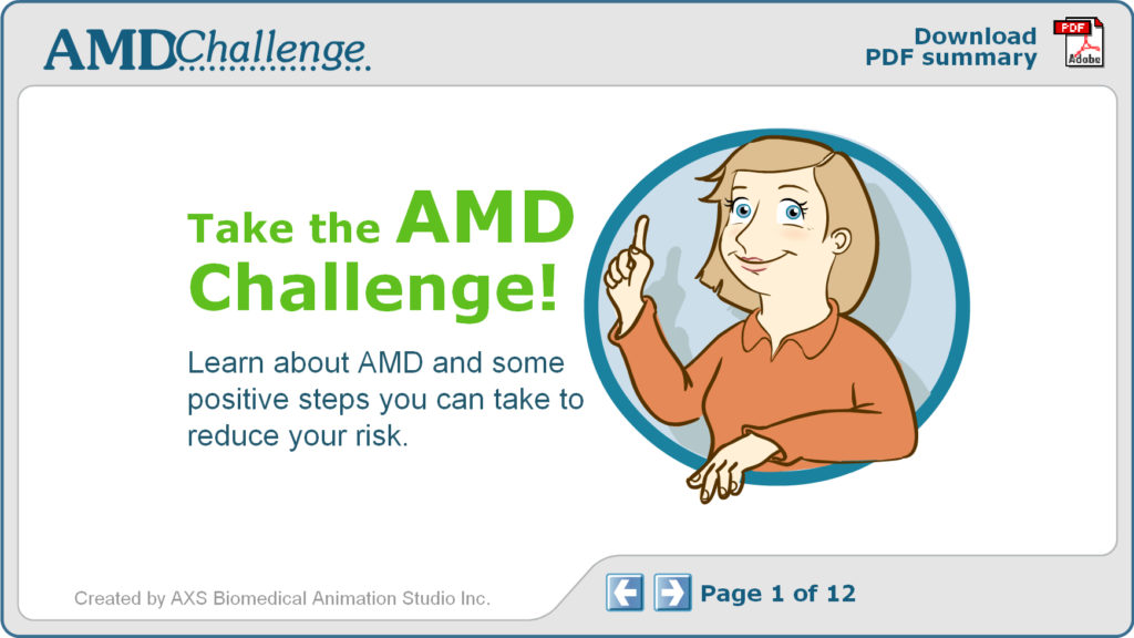 AMD (Age-related Molecular Degeneration) Challenge